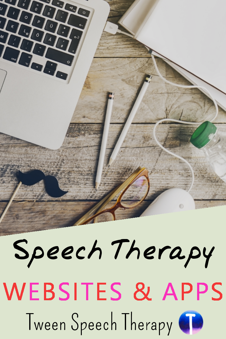 Speech Therapy Websites and Apps