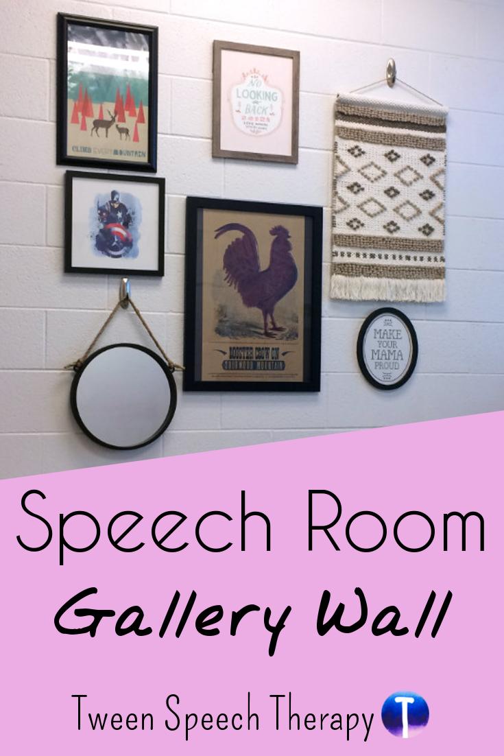 Gallery Wall Speech Room Decor