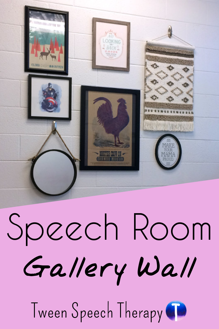 Gallery Wall Speech Room Decor