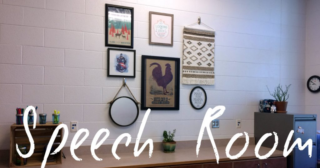 Speech Room Decor by Tween Speech Therapy