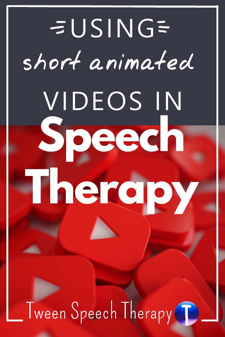 Using Short Animated Videos in Speech Therapy