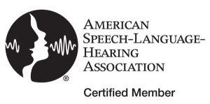 American Speech-Language-Hearing Association Certified Member