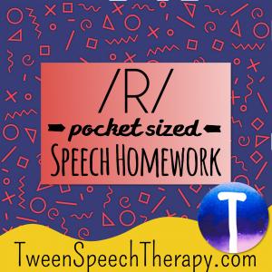 R Pocket Sized Speech Homework