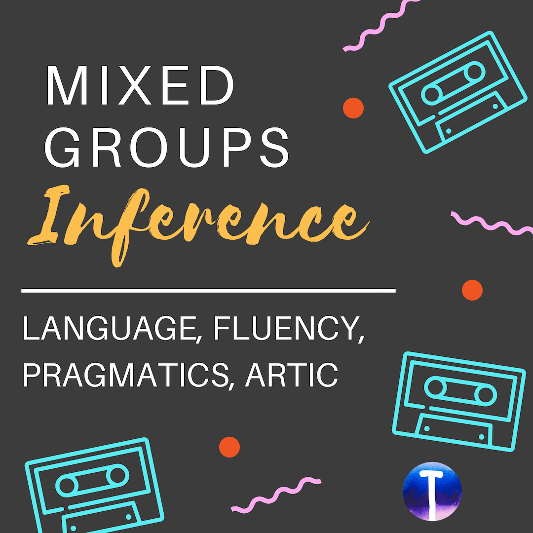 Inference Mixed Groups Speech Activities