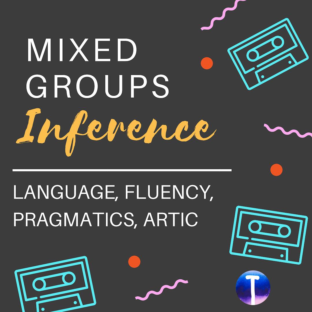 Inference Mixed Groups Speech Activities