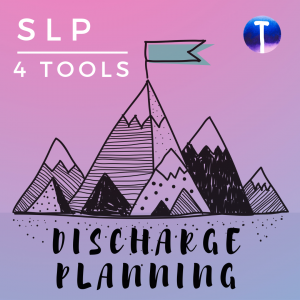 speech graduation discharge planning