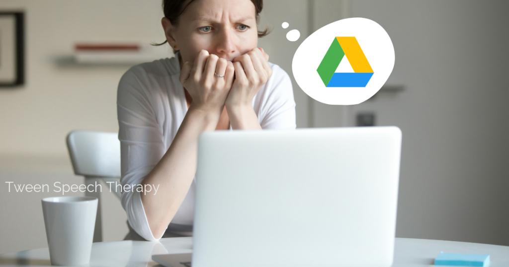 google drive organization