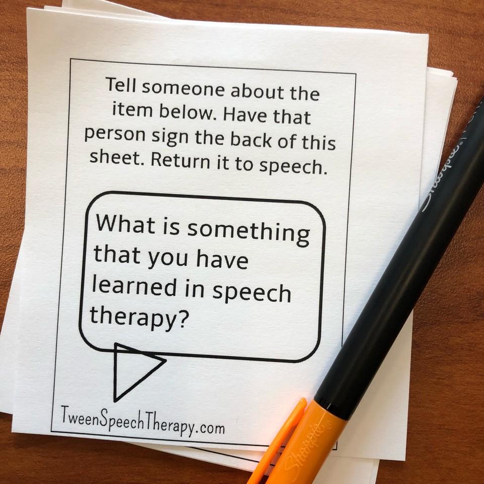 speech homework